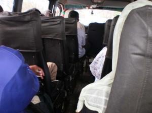 Intérieu d'un taxibe