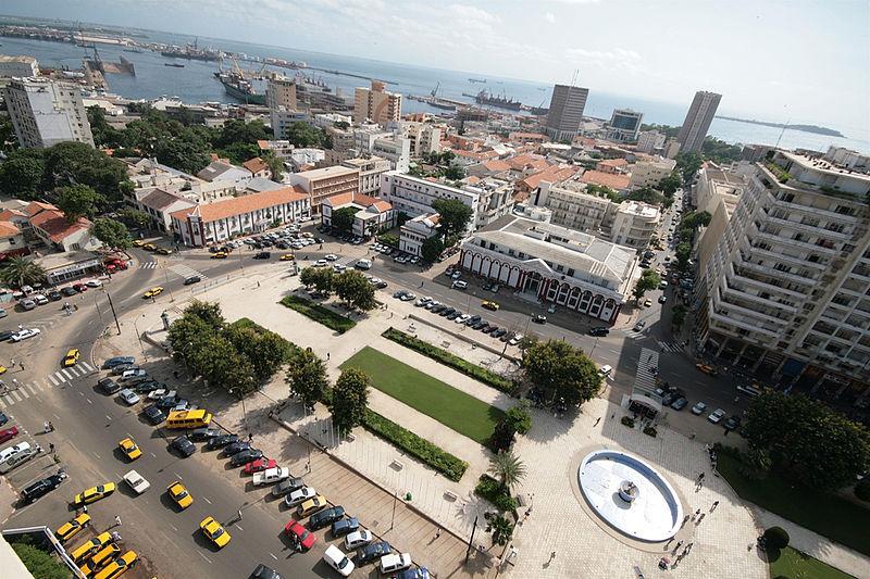 Dakar Place de l'Indépendance