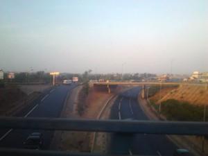 Autoroutes de Dakar filmées à 19h du soir