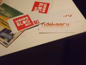 Vernissage Ndakaaru avec Mondoblog