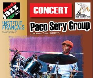 Affiche du concert de Paco Sery Group