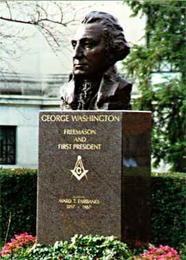 George Washington, franc-maçon et premier président des USA