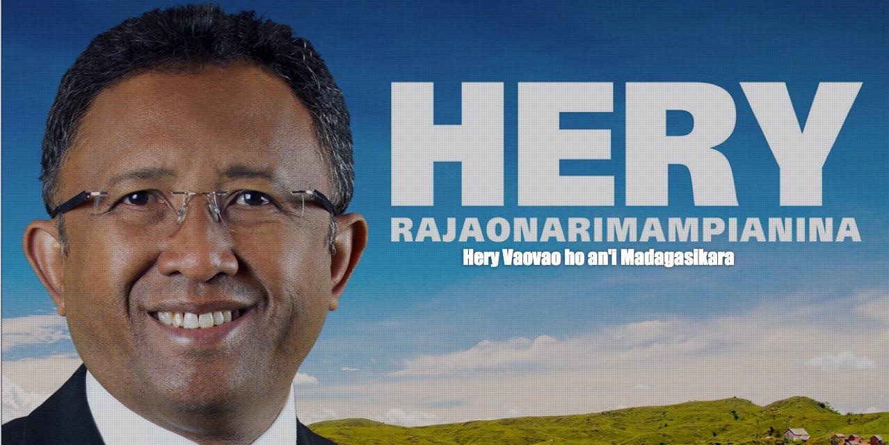 Affiche: La nouvelle force pour Madagascar (Hery Vaovao)