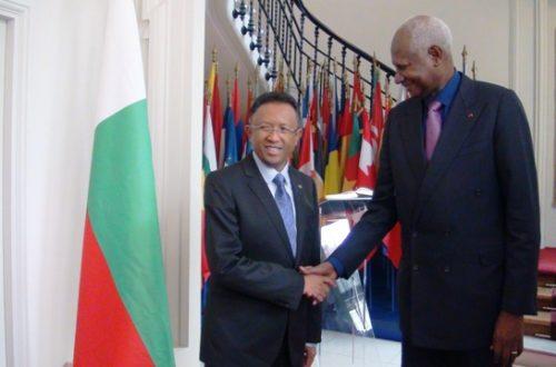 Article : Madagascar accueillera le Sommet de la Francophonie 2016