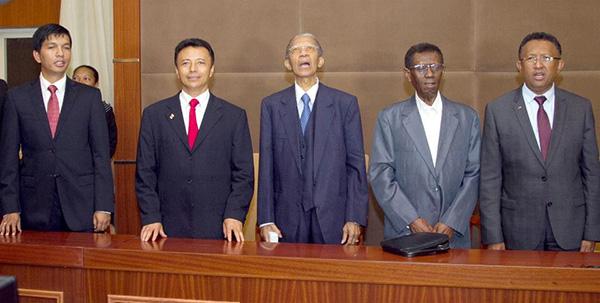 Les présidents malgaches