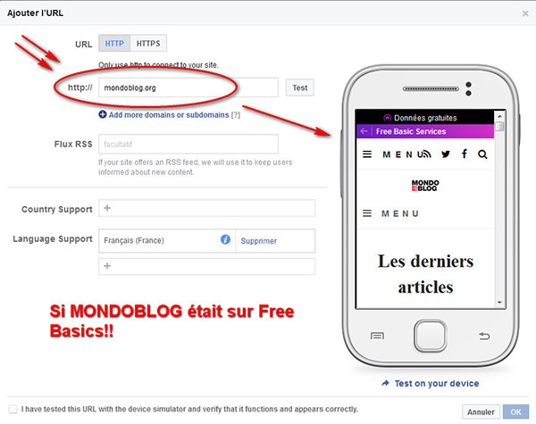 Mondoblog sur Free Basics, une utopie?