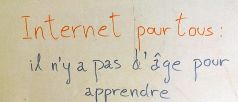 Article : Apprendre à des seniors à utiliser internet